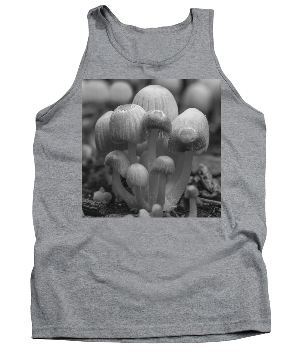 Funghi Tank Top featuring the photograph The Funghi Family by Photopoint Art