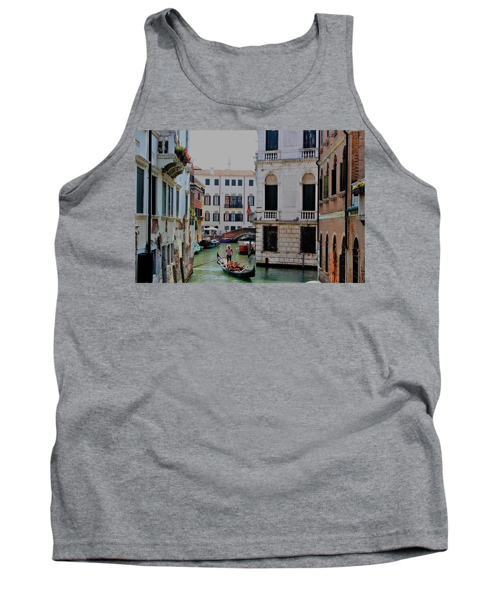 Venice Tank Top featuring the photograph This World by Loretta S