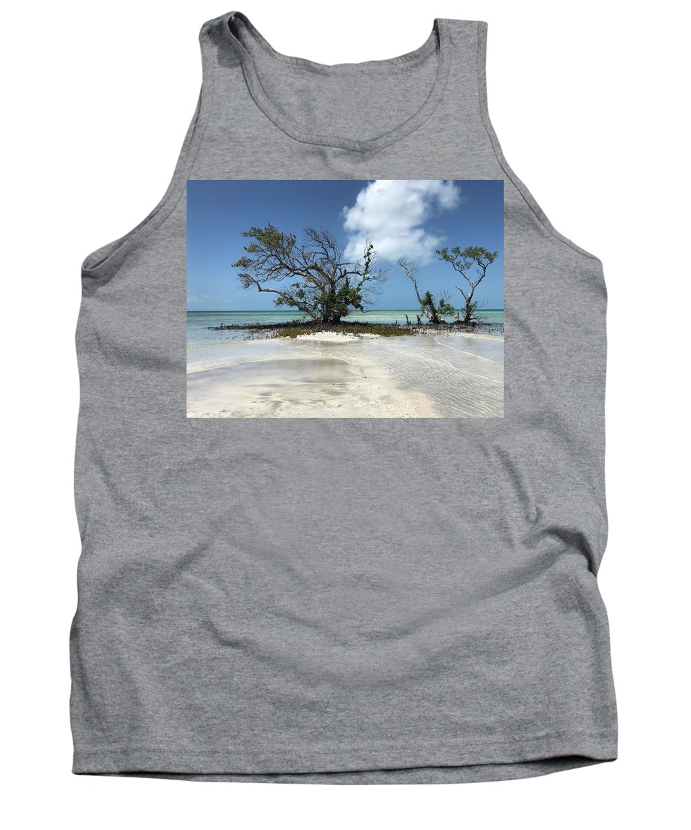Key West Florida Waters Tank Top featuring the photograph Key West Waters by Ashley Turner