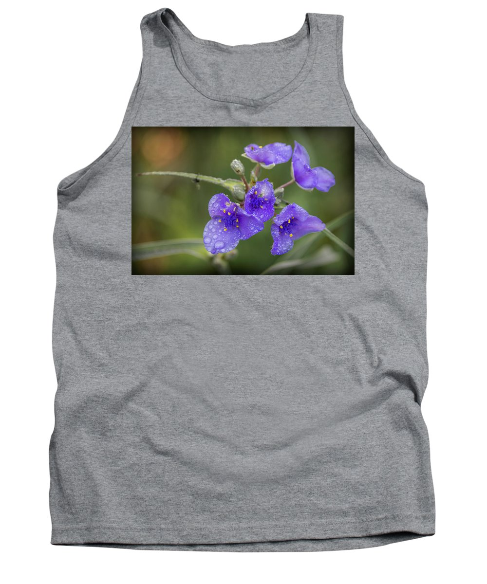 Flowers Tank Top featuring the photograph 20-0616-0586 by Anthony Roma