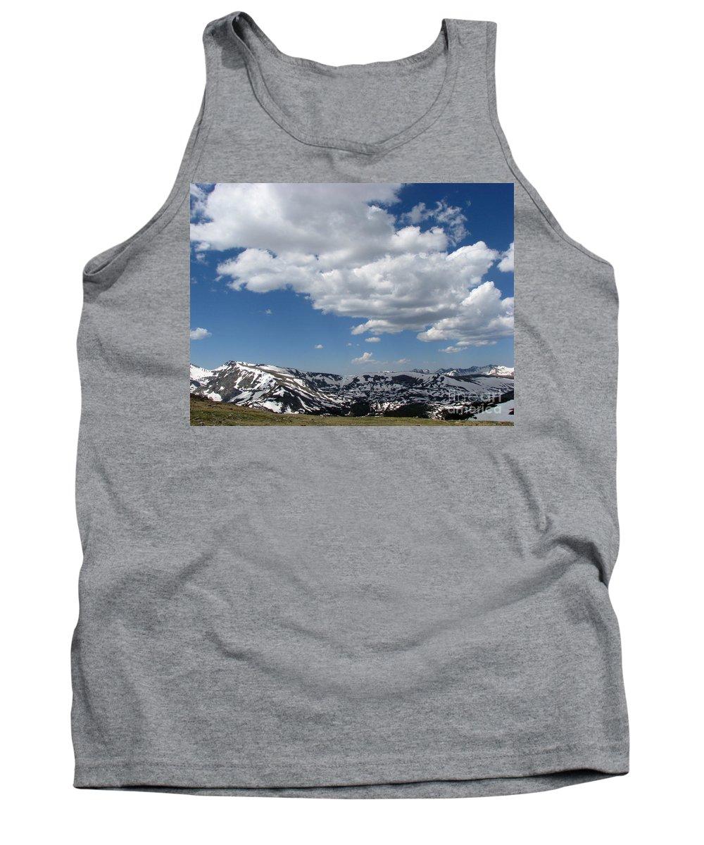 Mountains Tank Top featuring the photograph Colorado by Amanda Barcon