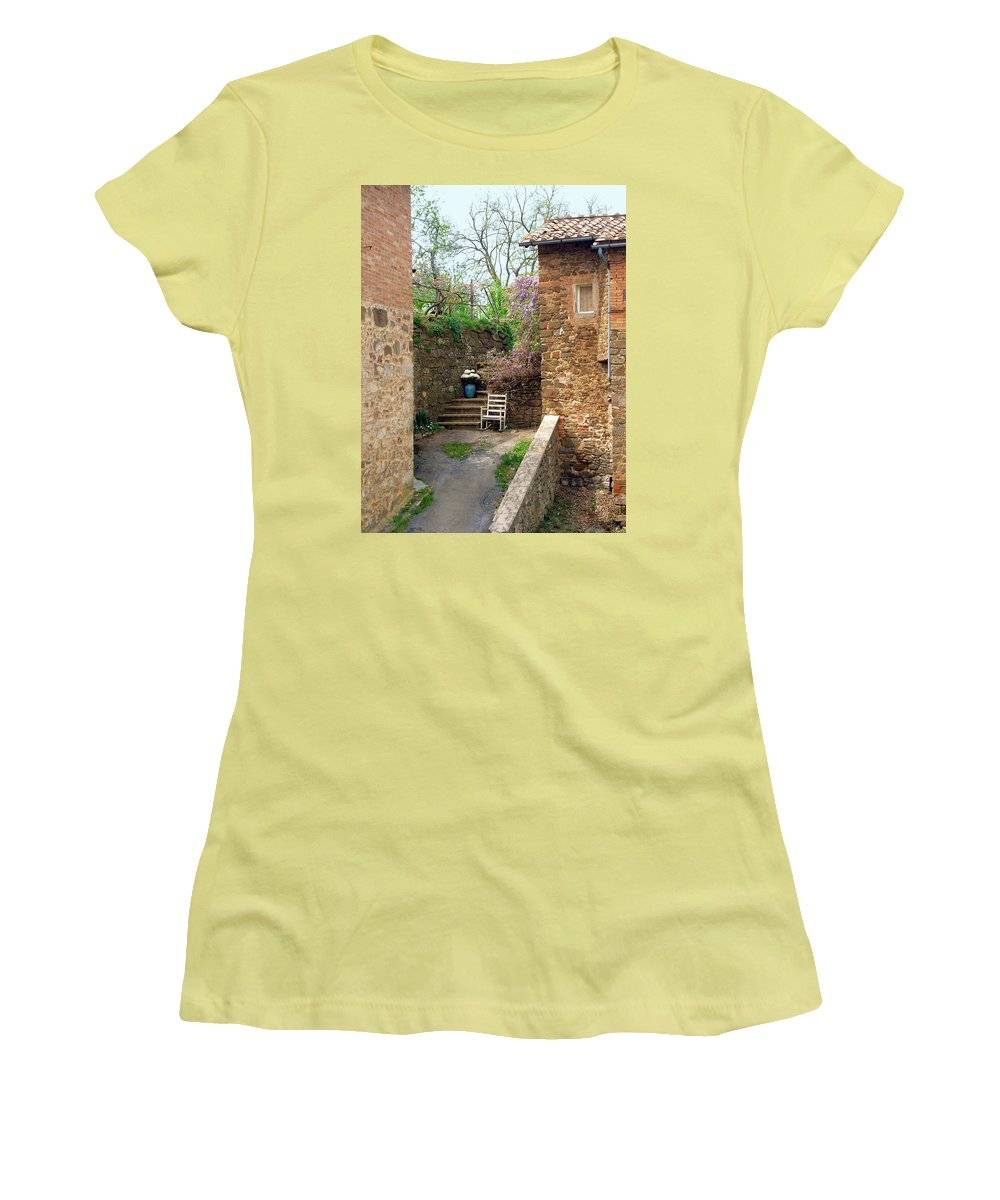 Solitude Women's T-Shirt (Athletic Fit) featuring the photograph Solitude by Ellen Henneke