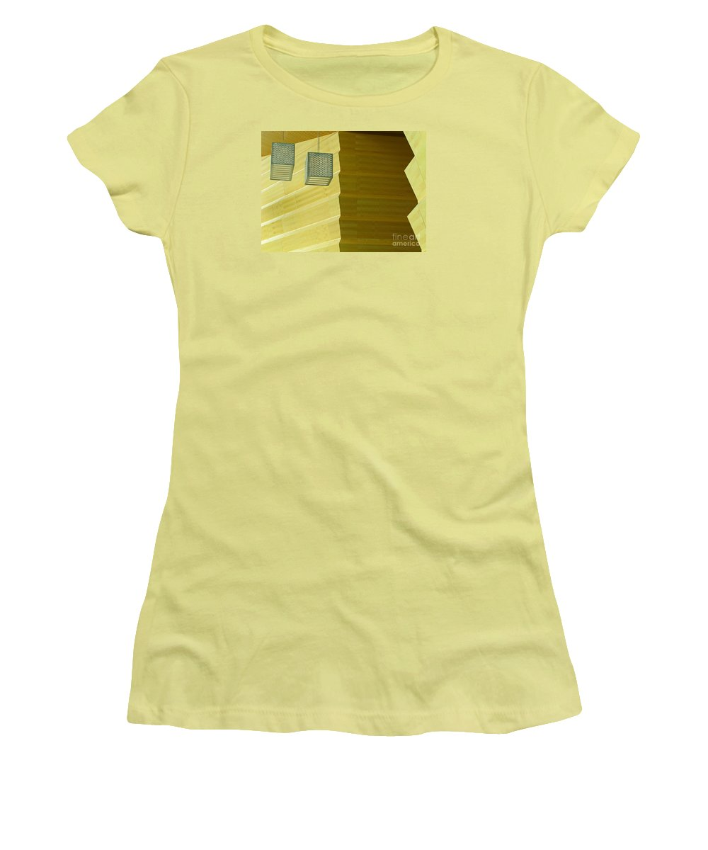 Zig-zag Women's T-Shirt (Athletic Fit) featuring the photograph Zig-zag by Ann Horn