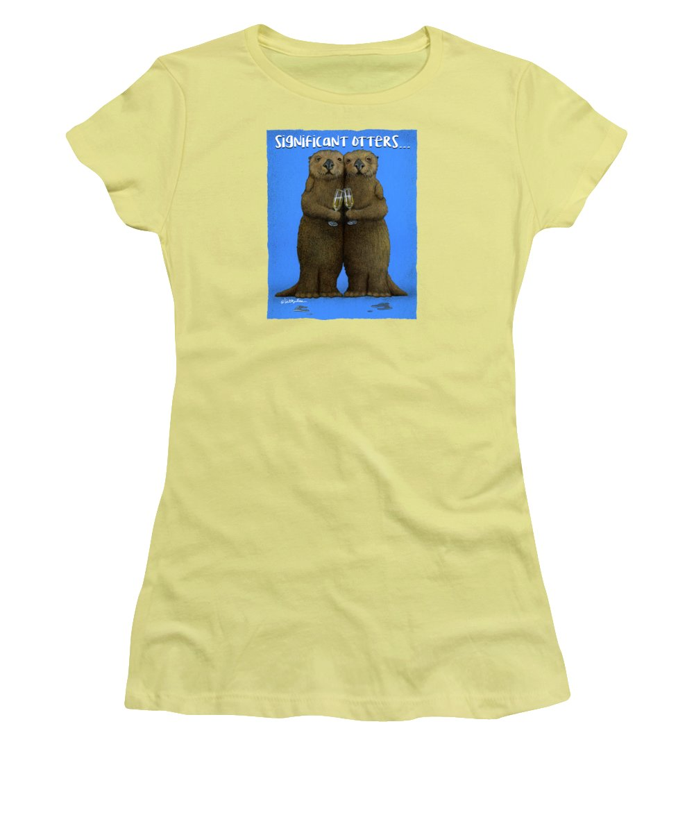 Otter Women's T-Shirts