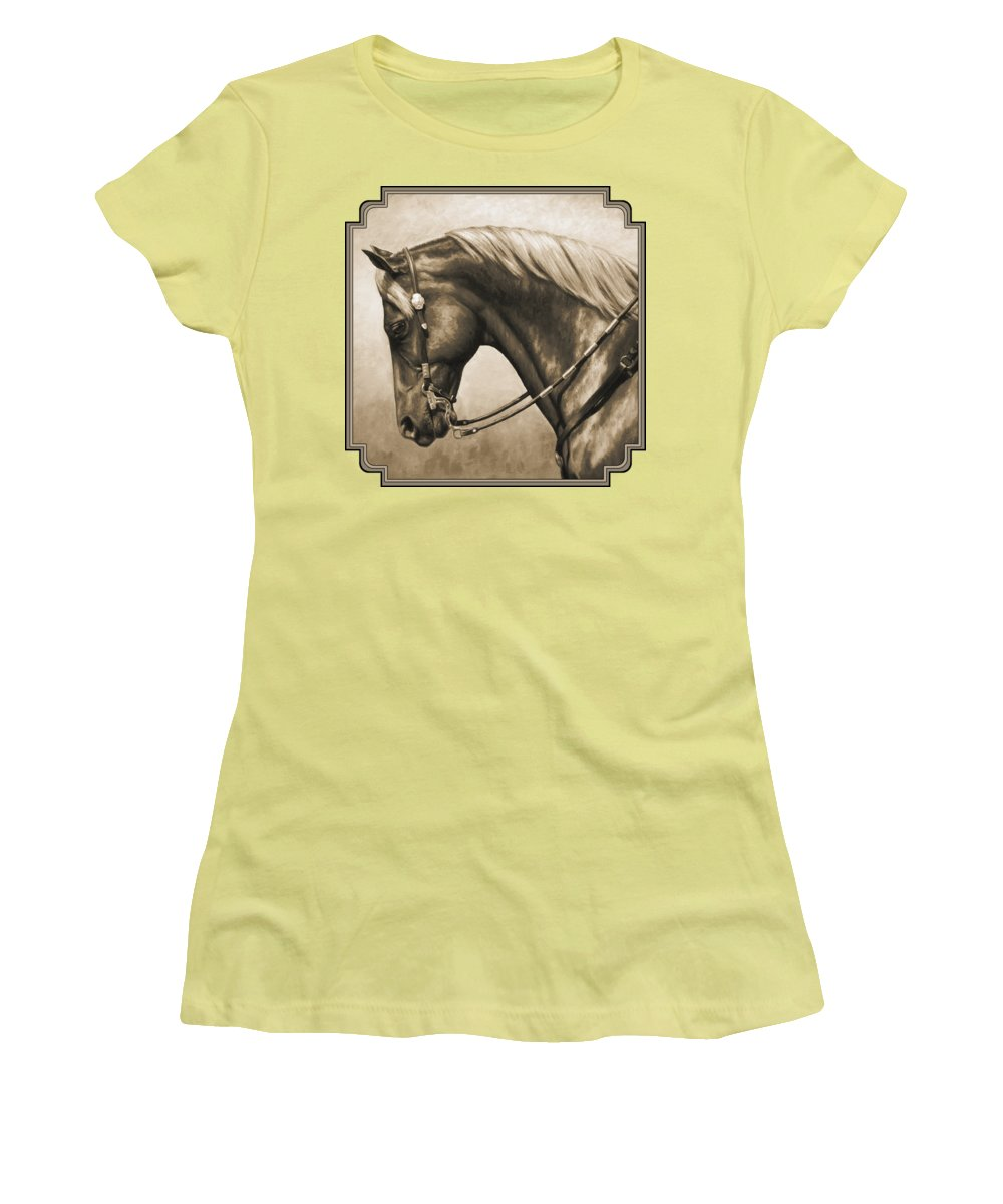 Equine Women's T-Shirts