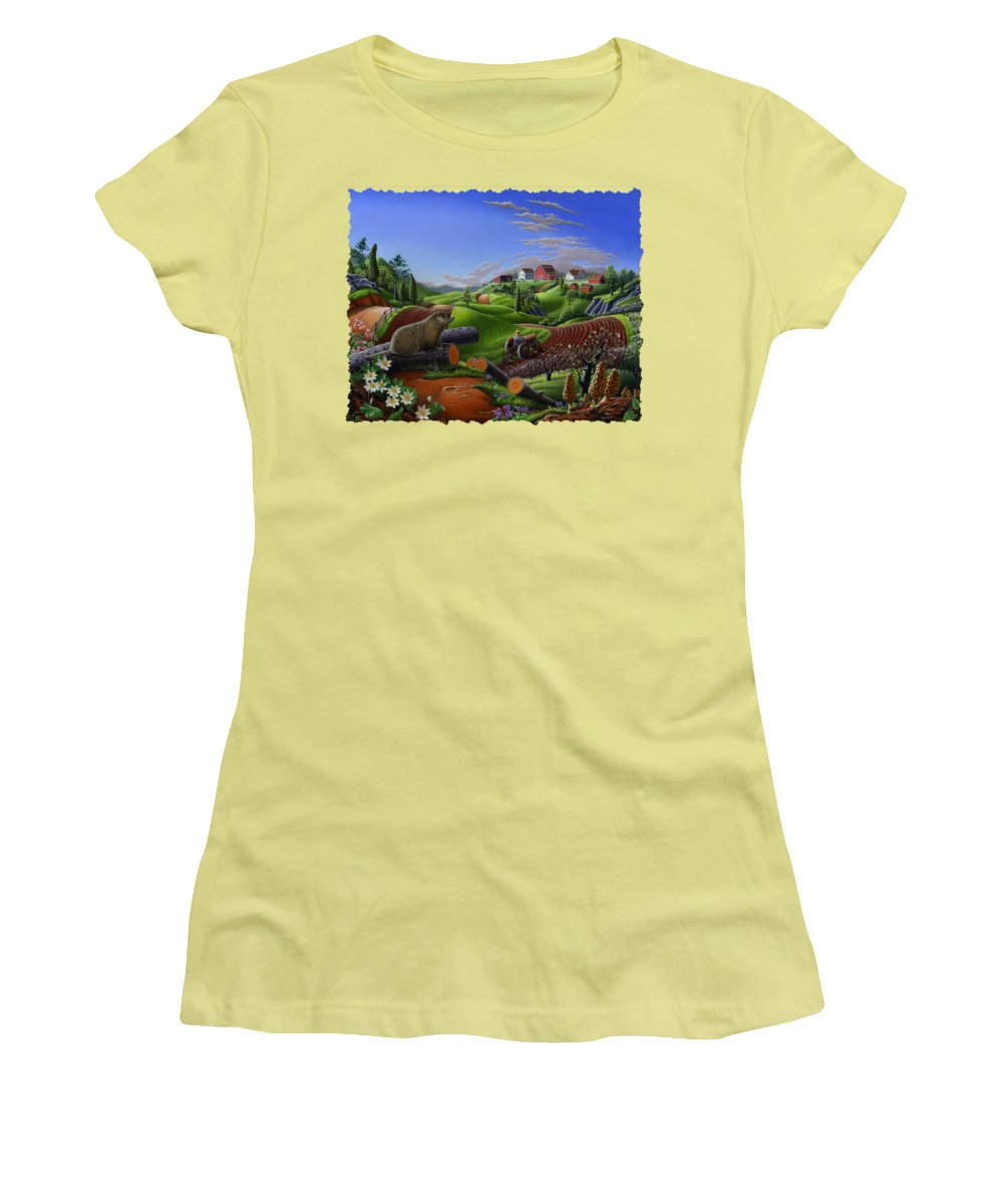 Groundhog Women's T-Shirts