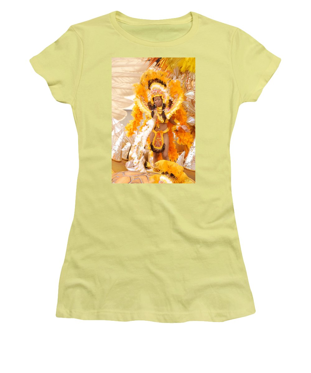 Brazil Women's T-Shirt (Athletic Fit) featuring the photograph Lets Samba by Sebastian Musial