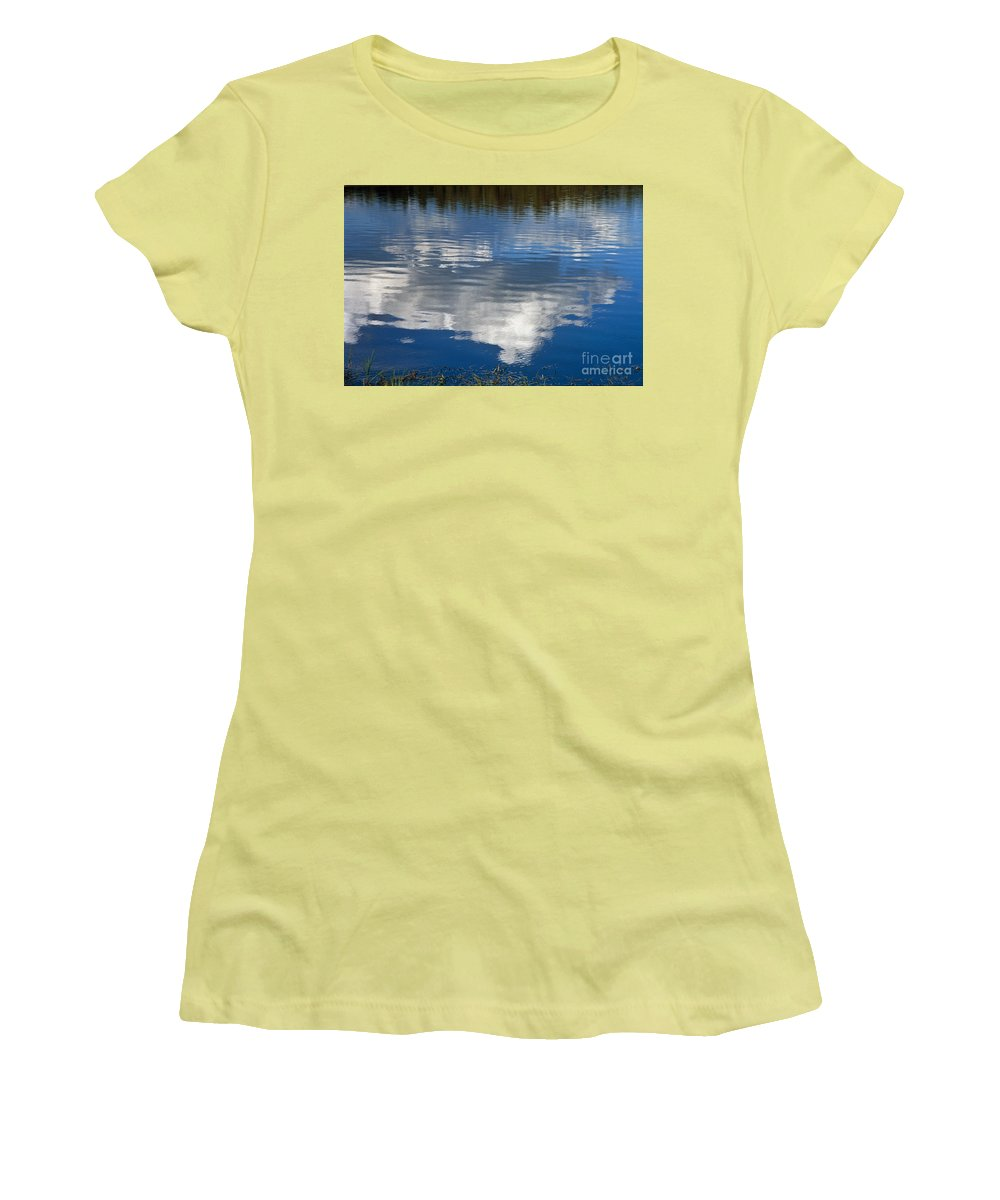 Landscape Women's T-Shirt (Athletic Fit) featuring the photograph Peace by Kathy McClure