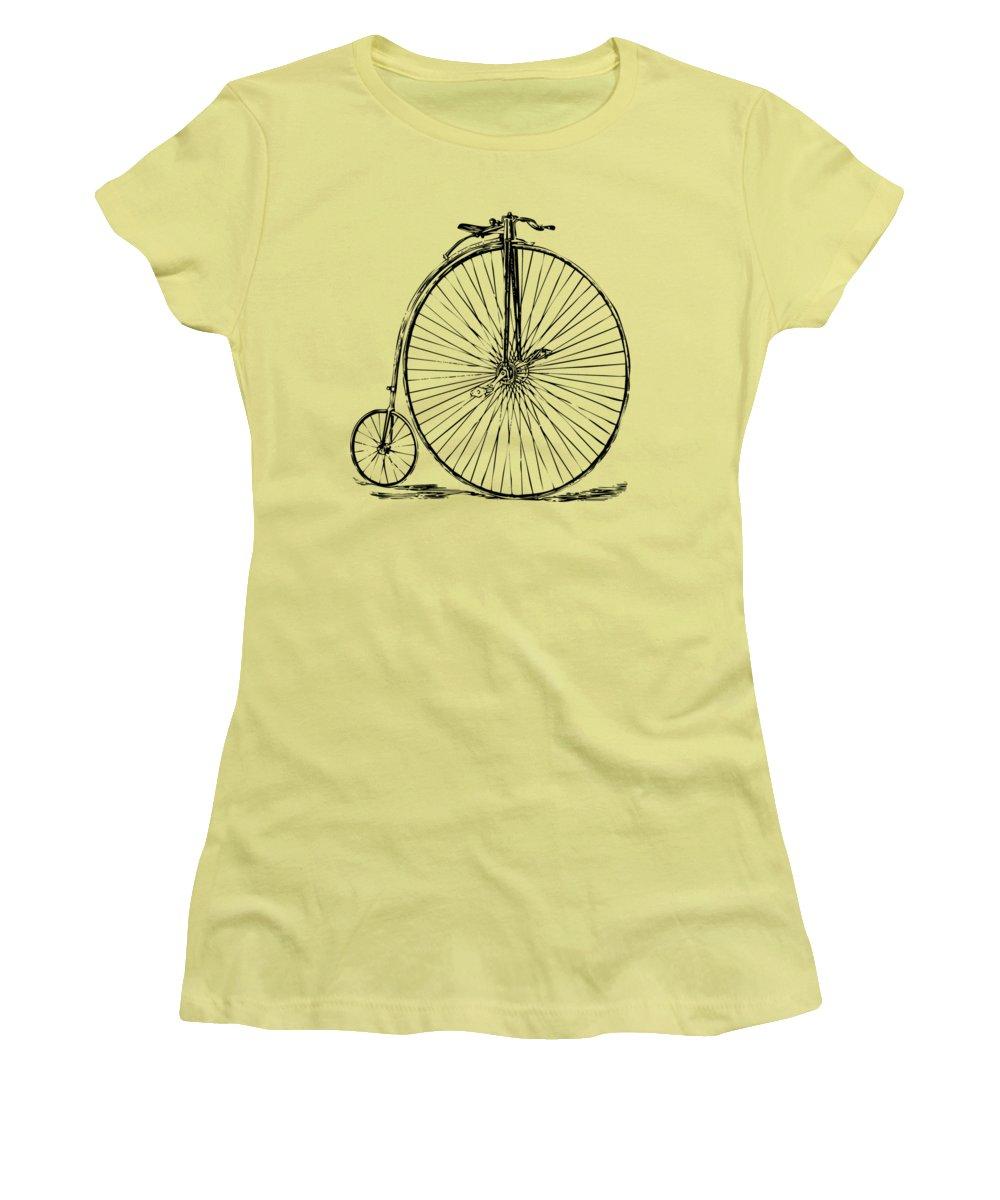 Bicycle Women's T-Shirts