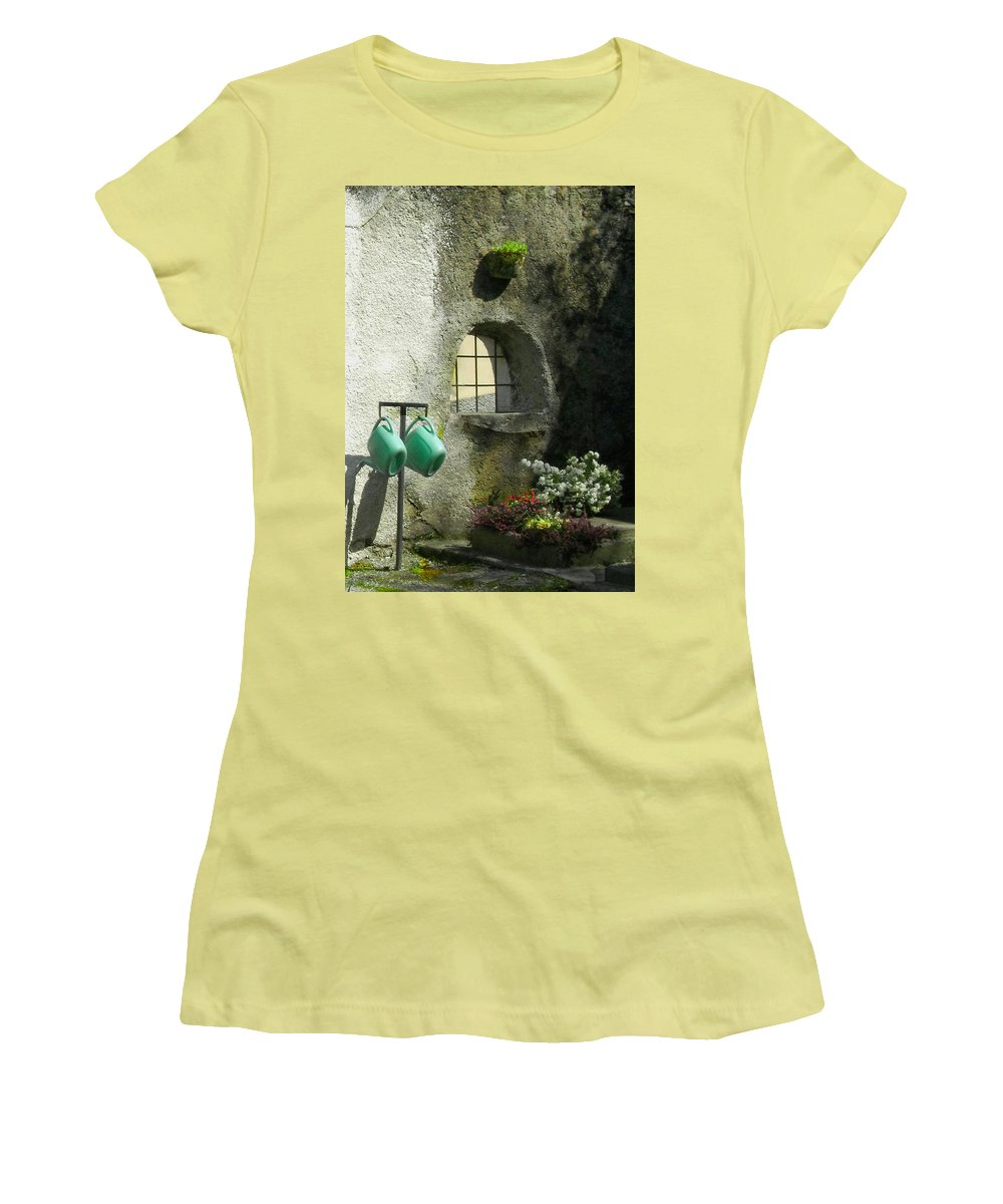Italy Women's T-Shirt (Athletic Fit) featuring the photograph Tuscan Afternoon by Lynn Andrews