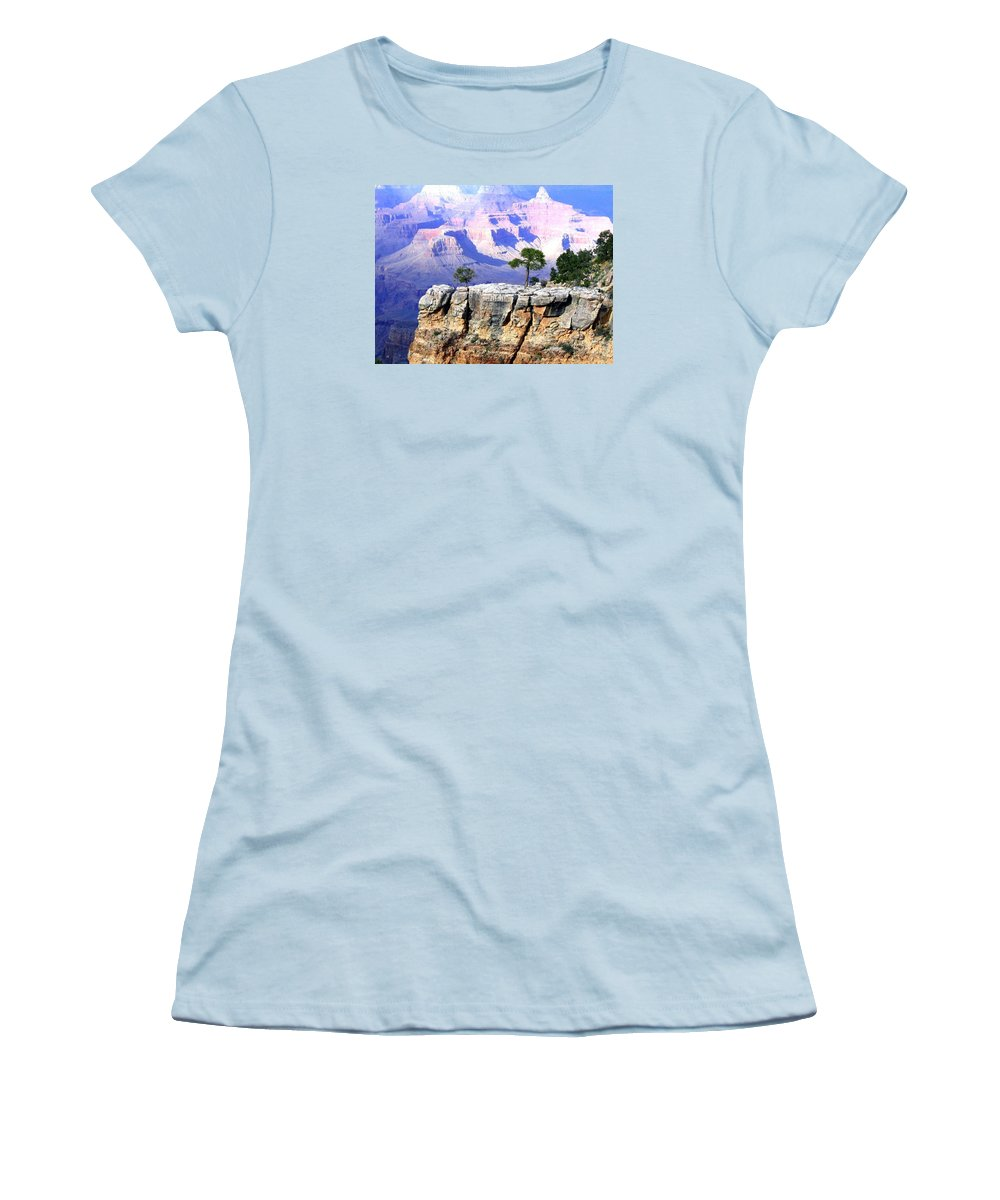 #grandcanyon1vista Women's T-Shirt (Athletic Fit) featuring the photograph Grand Canyon 1 by Will Borden