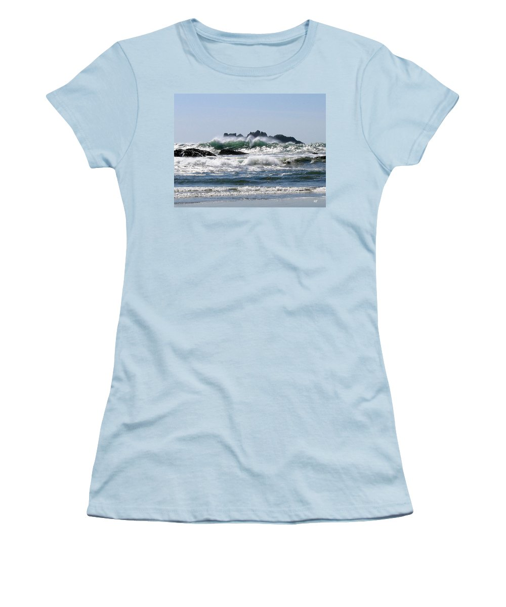 Bandon Women's T-Shirt (Athletic Fit) featuring the photograph Bandon 20 by Will Borden