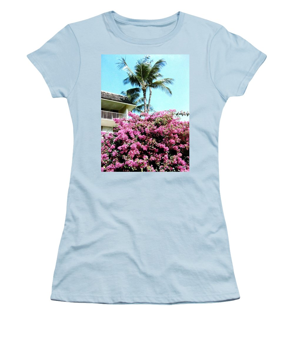 1986 Women's T-Shirt (Athletic Fit) featuring the photograph Bougainvillea by Will Borden
