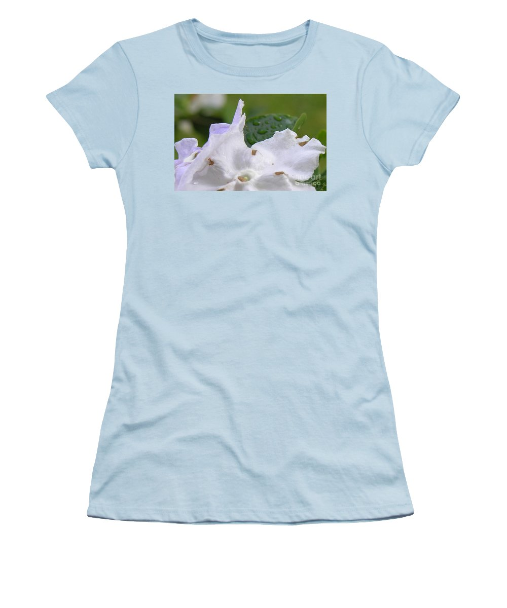 Flower Women's T-Shirt (Athletic Fit) featuring the photograph Easter Surprise by Richard Rizzo