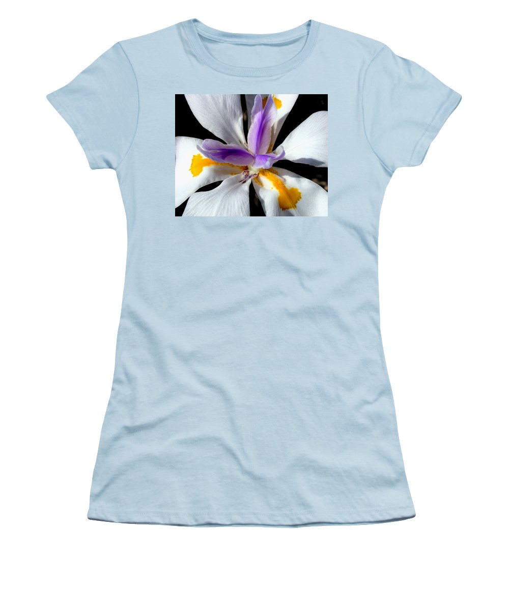 Flowers Women's T-Shirt (Athletic Fit) featuring the photograph Flower by Anthony Jones