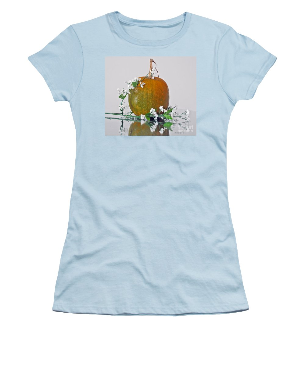 Photography Women's T-Shirt (Athletic Fit) featuring the photograph Harvest by Shelley Jones