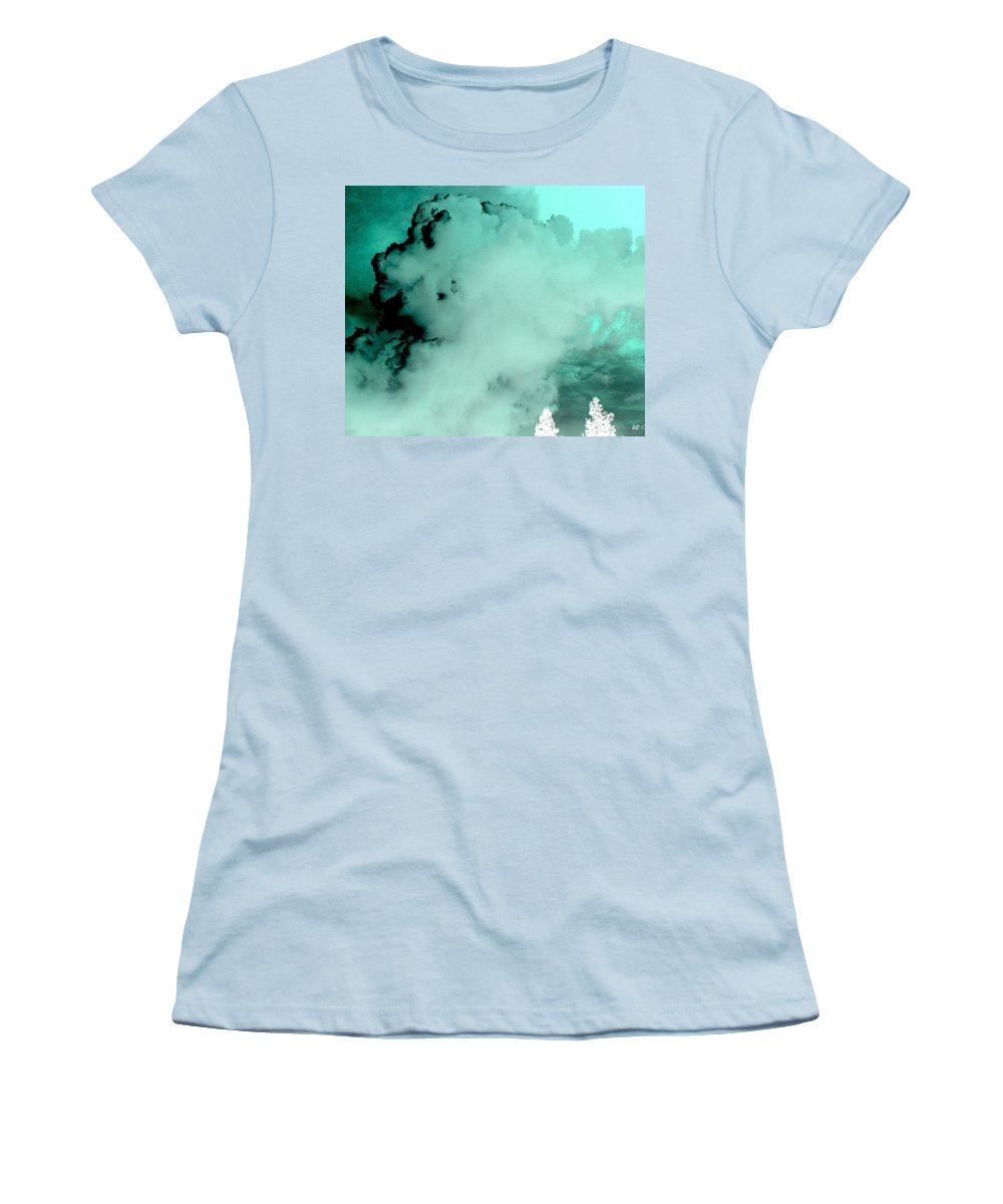 Impressions Women's T-Shirt (Athletic Fit) featuring the digital art Impressions 10 by Will Borden