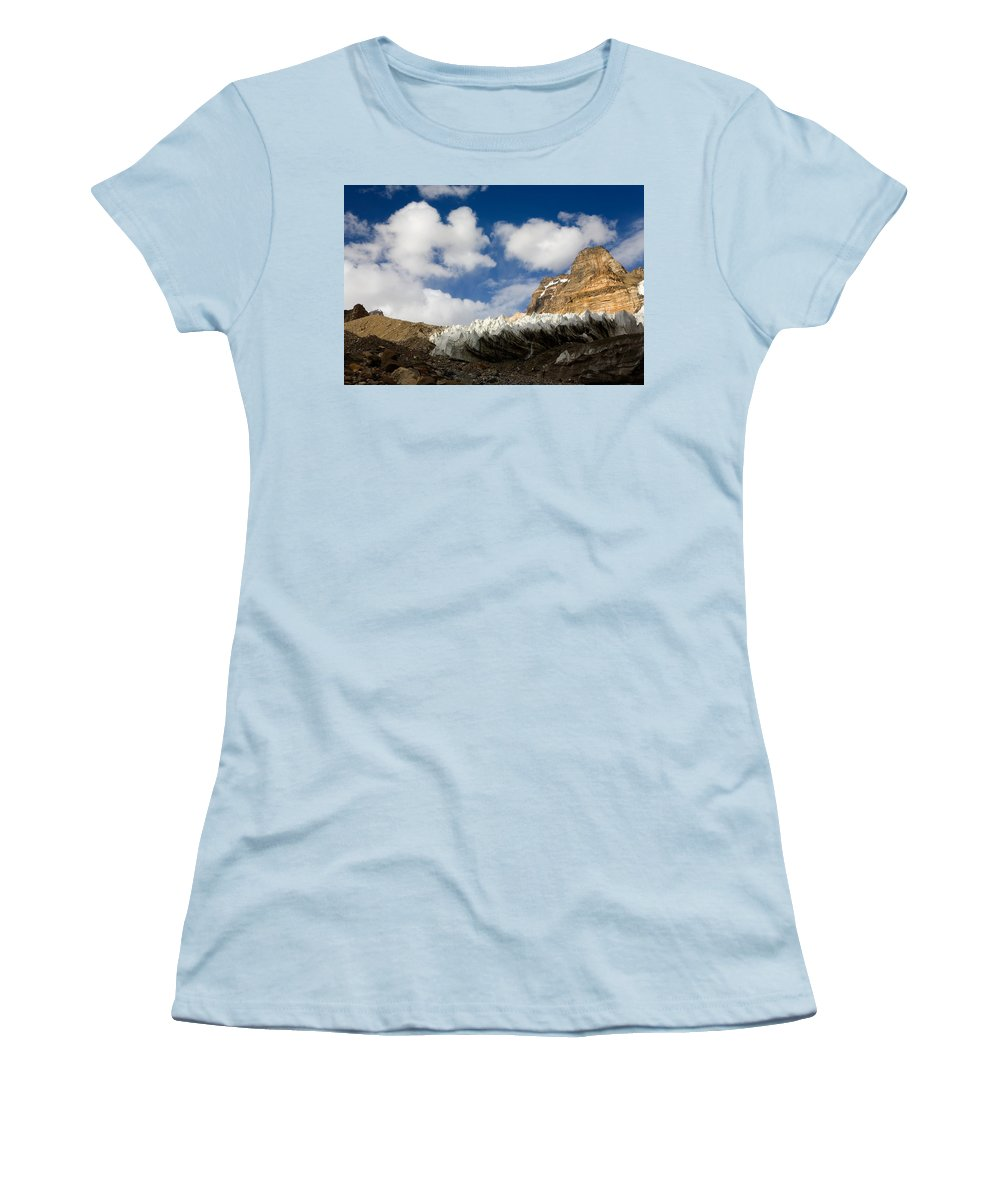 Beautiful Women's T-Shirt (Athletic Fit) featuring the photograph In The Sky And On The Earth by Konstantin Dikovsky