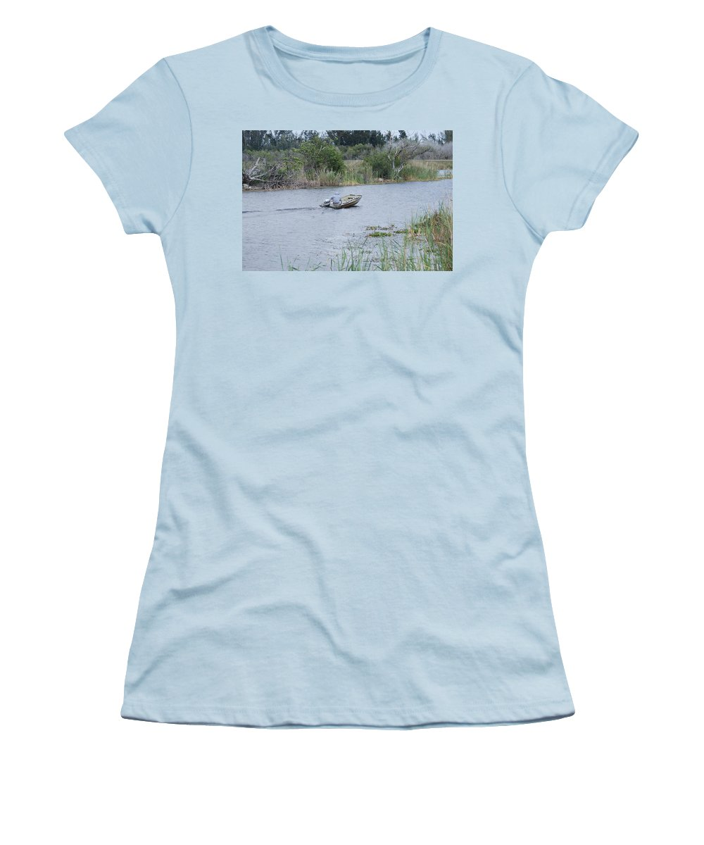 River Women's T-Shirt (Athletic Fit) featuring the photograph Old Man River by Rob Hans