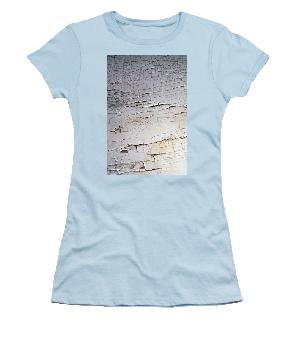 Paint Women's T-Shirt (Athletic Fit) featuring the photograph Old Siding by Richard Rizzo