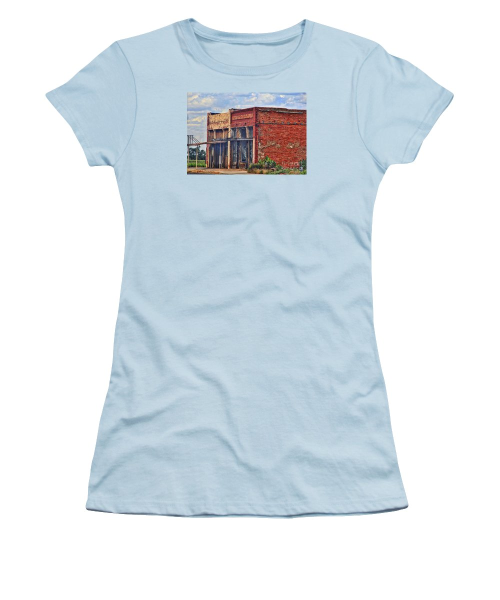 Old texas store fronts women 39 s t shirt for sale by linda james for T shirts for 15 year olds