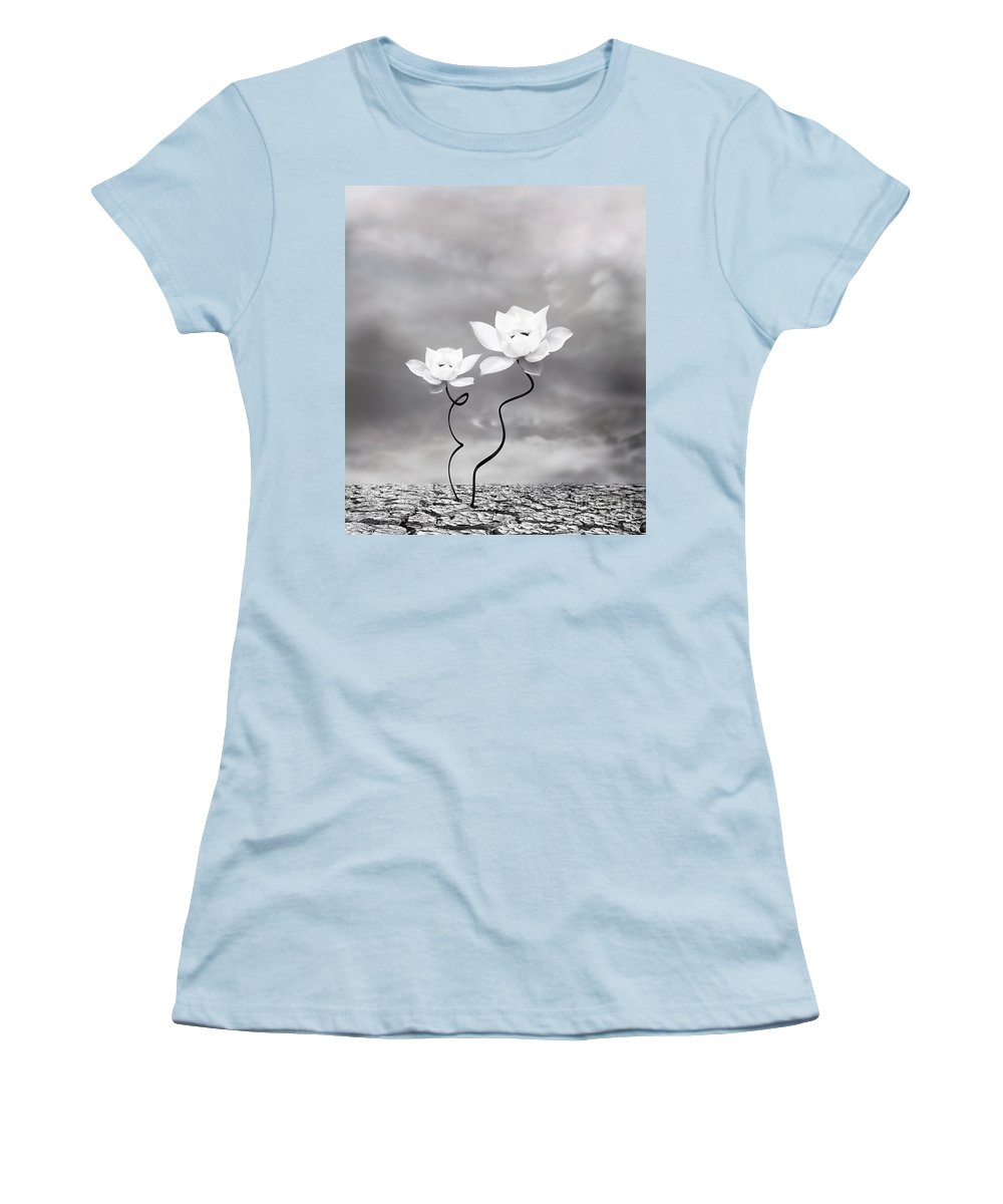 Surreal Women's T-Shirt (Athletic Fit) featuring the photograph Prevail by Jacky Gerritsen