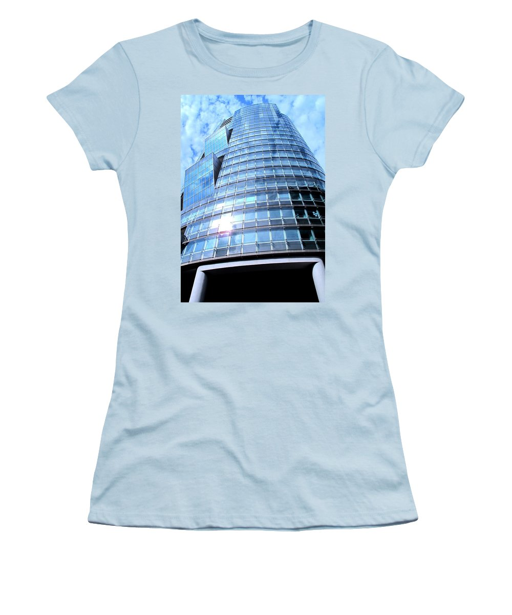 Vienna Women's T-Shirt (Athletic Fit) featuring the photograph Soaring by Ian MacDonald