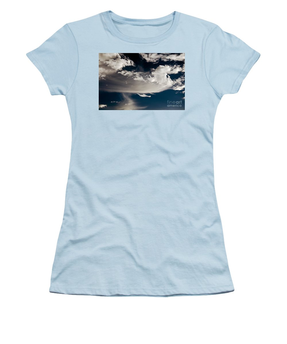 Clay Women's T-Shirt (Athletic Fit) featuring the photograph Streakin' Cloud by Clayton Bruster
