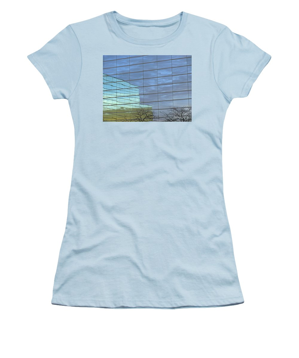 Twilight Women's T-Shirt (Athletic Fit) featuring the photograph Twilight by Ann Horn