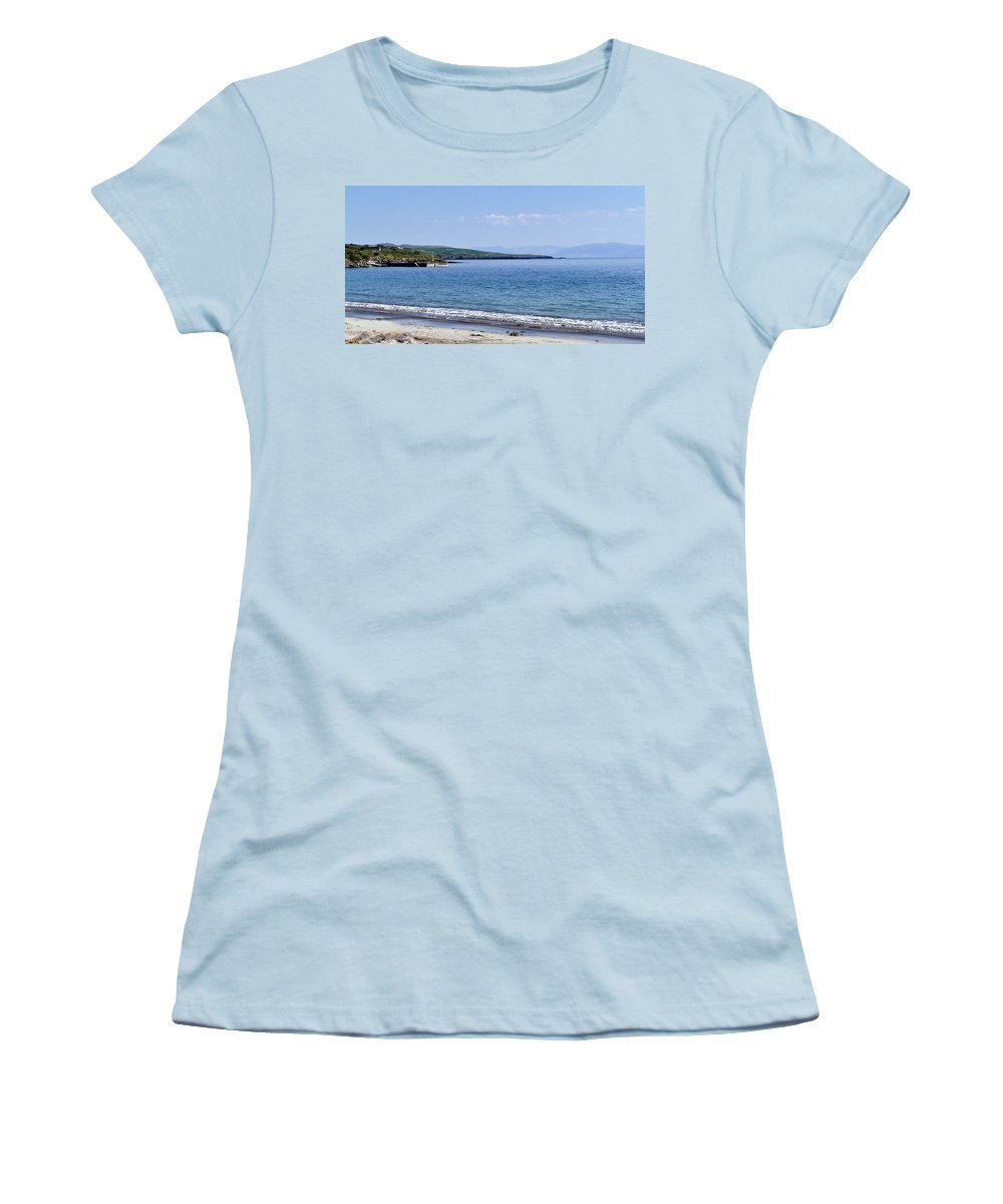 Irish Women's T-Shirt (Athletic Fit) featuring the photograph Ventry Harbor On The Dingle Peninsula Ireland by Teresa Mucha
