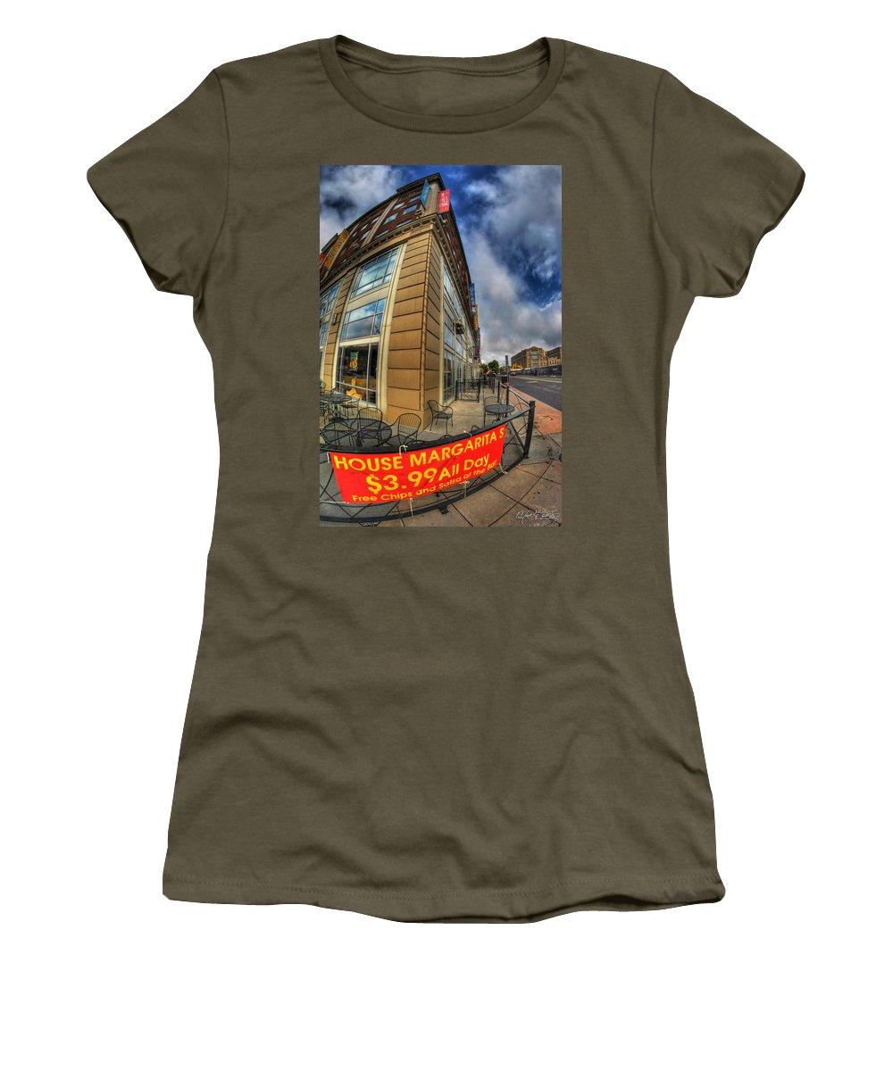 Allentown Women's T-Shirt featuring the photograph 002 Salsaritas by Michael Frank Jr