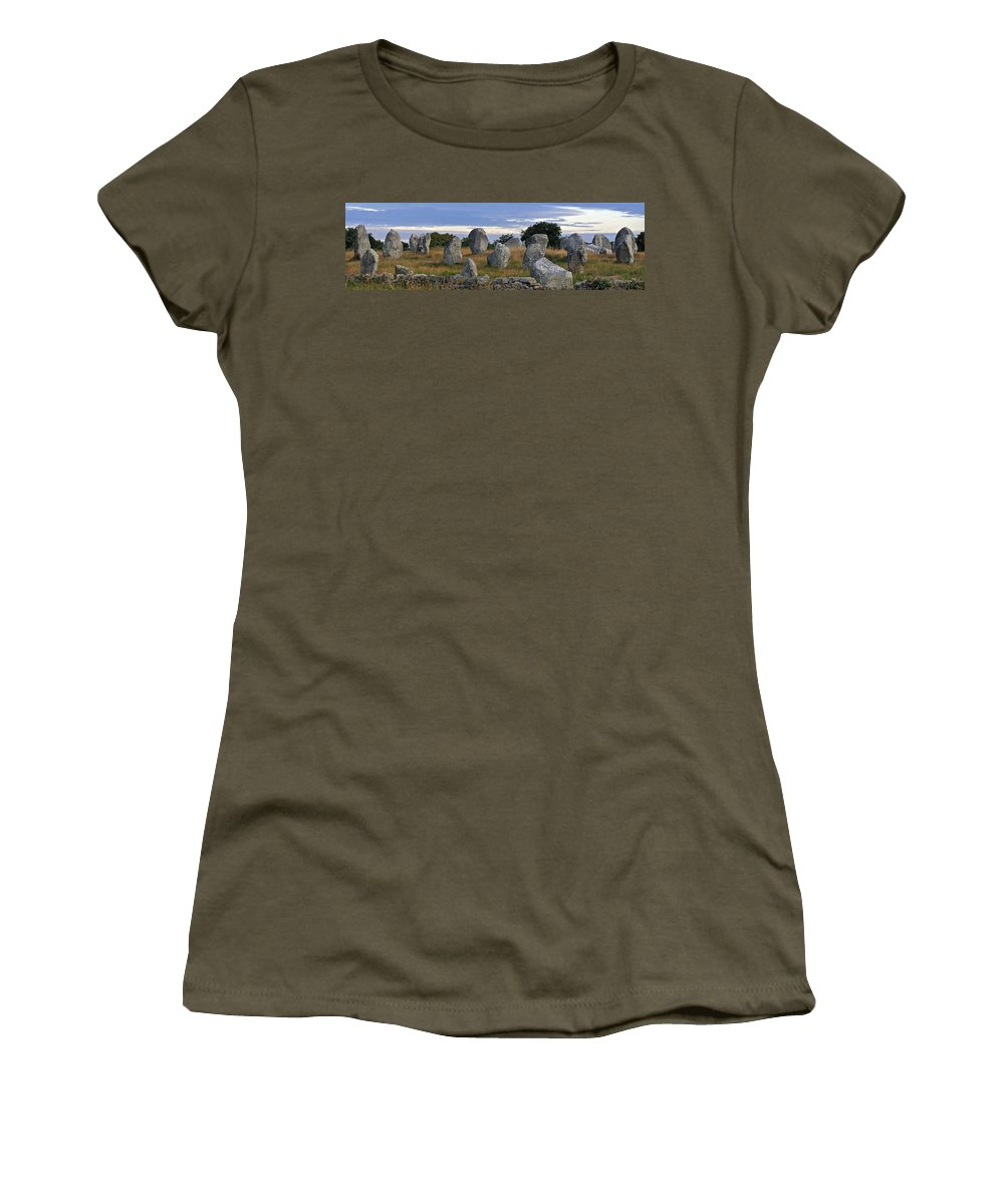 Neolithic Women's T-Shirt featuring the photograph 091225p070 by Arterra Picture Library