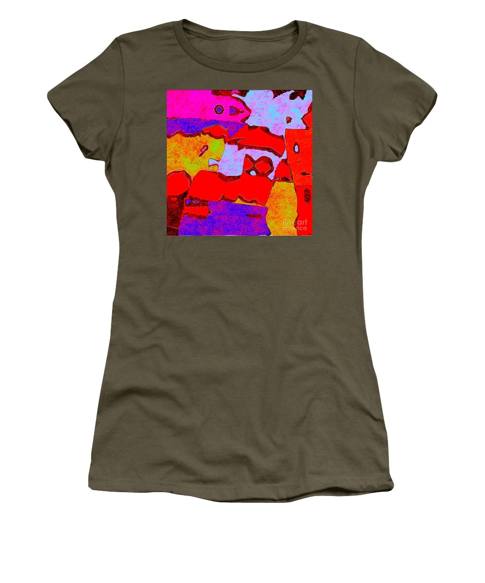 Abstract Women's T-Shirt featuring the digital art 0319 Abstract Thought by Chowdary V Arikatla