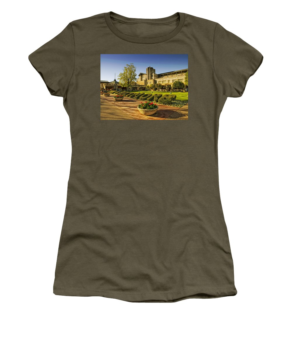 Phoenix Women's T-Shirt featuring the photograph Biltmore Resort And Spa - Phoenix by Mountain Dreams
