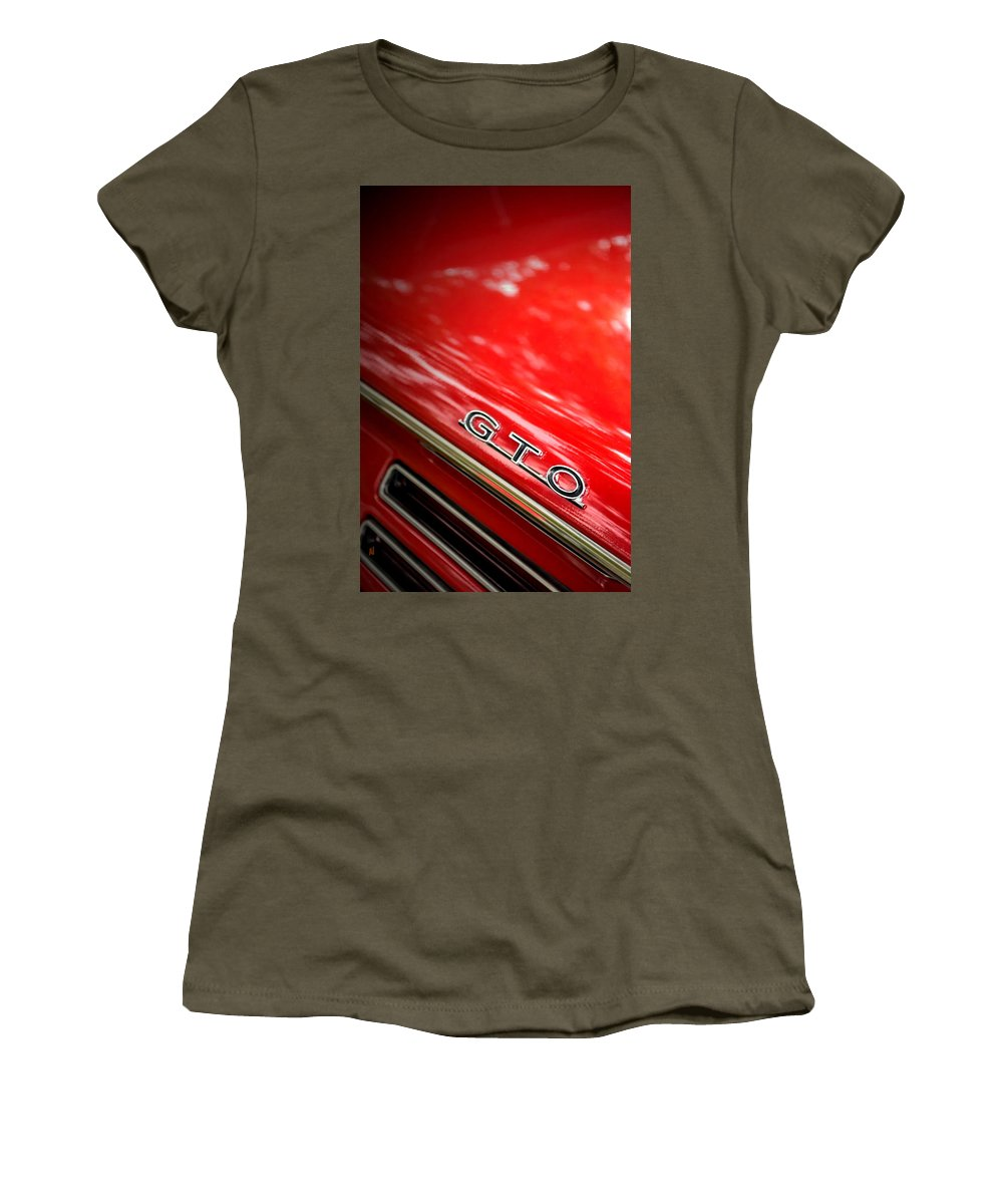 Gto Women's T-Shirt featuring the photograph GTO by Adam Vance