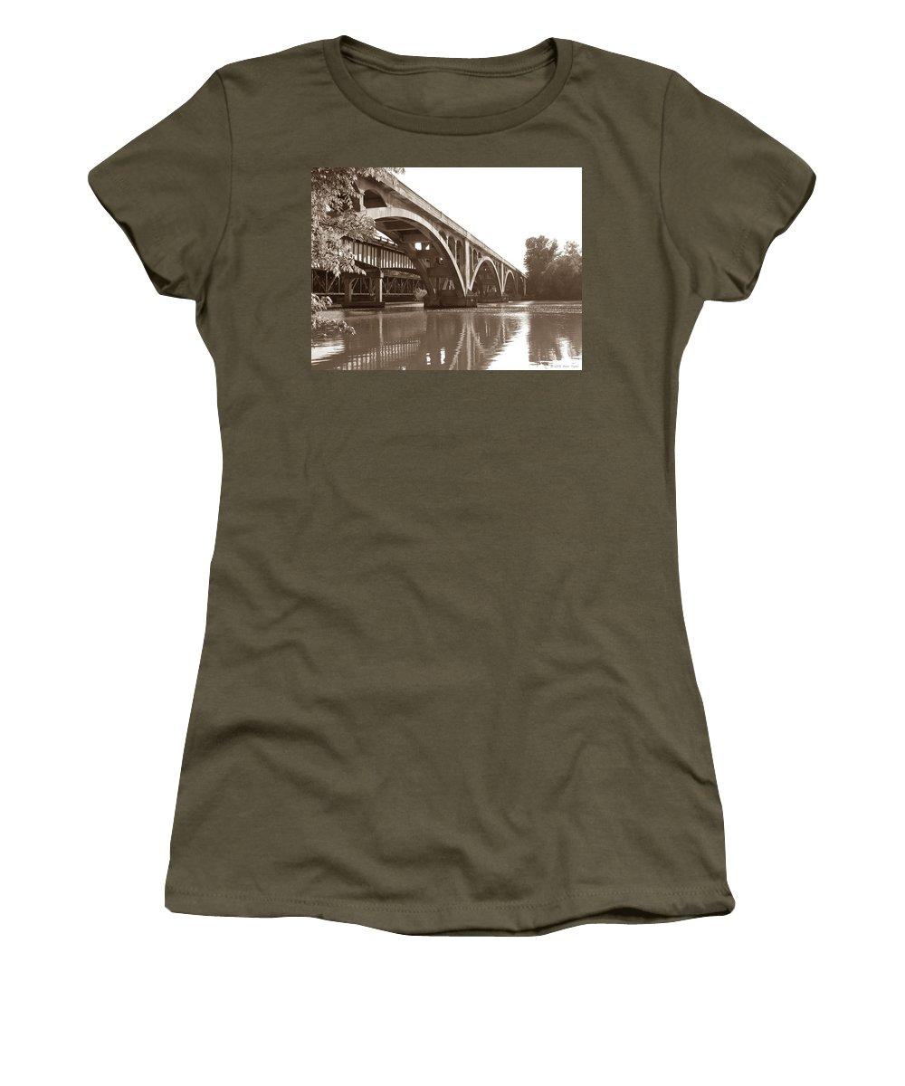 Nature Women's T-Shirt featuring the photograph Historic Wil-cox Bridge by Matt Taylor