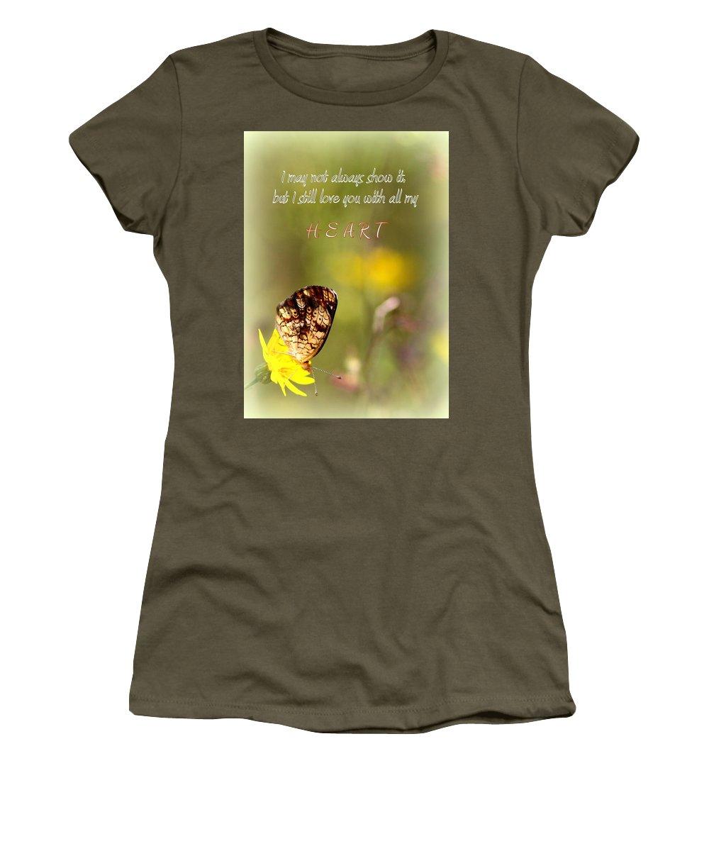 Love Women's T-Shirt featuring the photograph Love by Travis Truelove