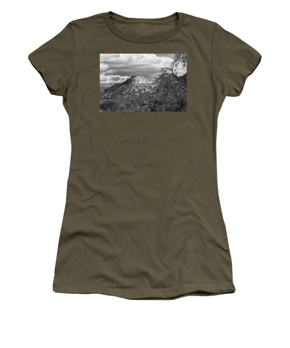 Mesa Women's T-Shirt featuring the photograph Mesa by Hugh Smith