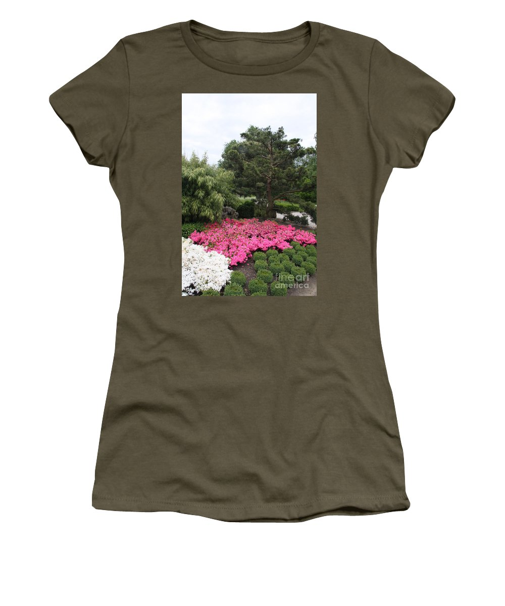 Spring Women's T-Shirt featuring the photograph Springtime In The Park by Christiane Schulze Art And Photography