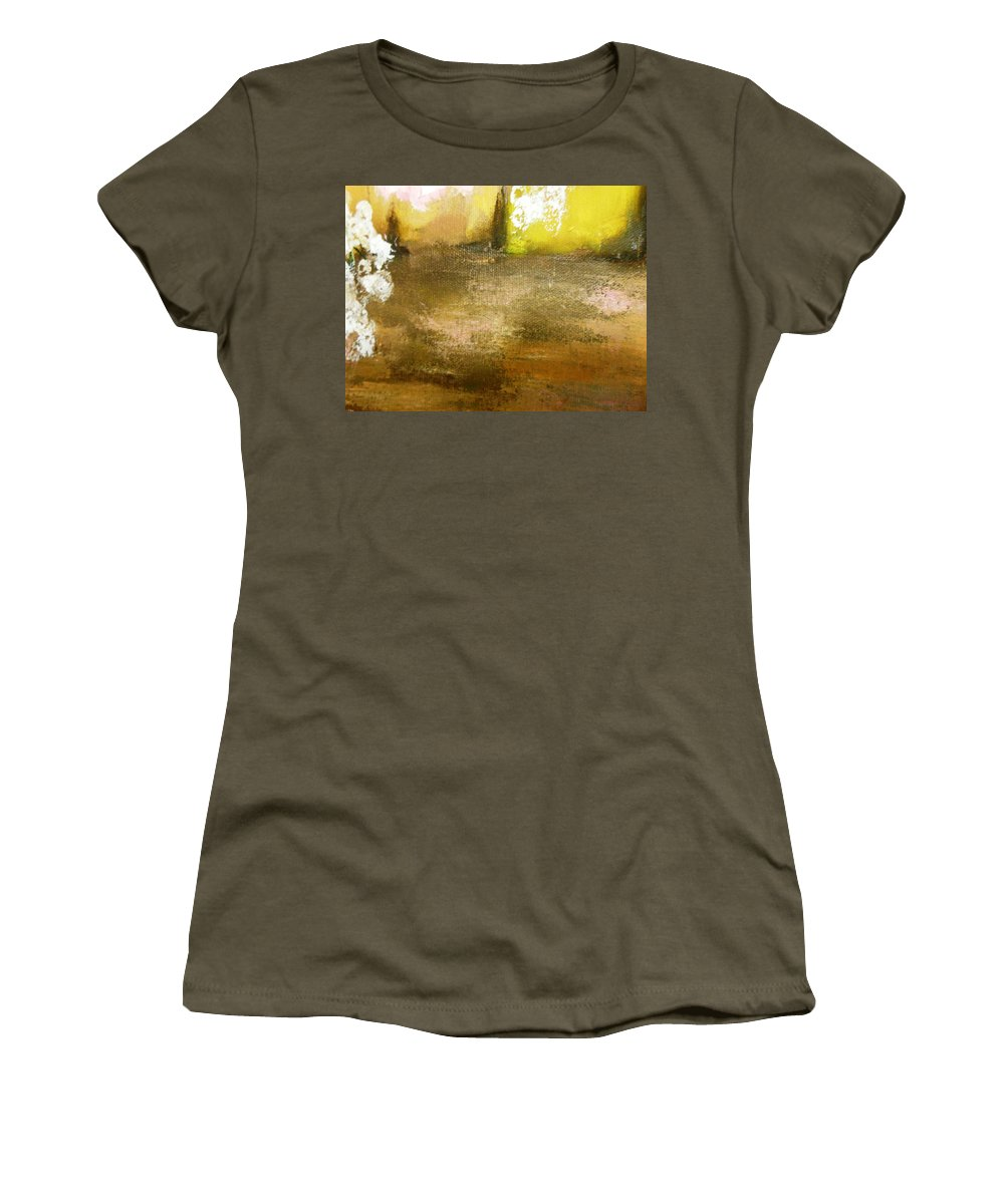 Paintings By Lyle Women's T-Shirt featuring the painting The Horizon by Lord Frederick Lyle Morris - Disabled Veteran