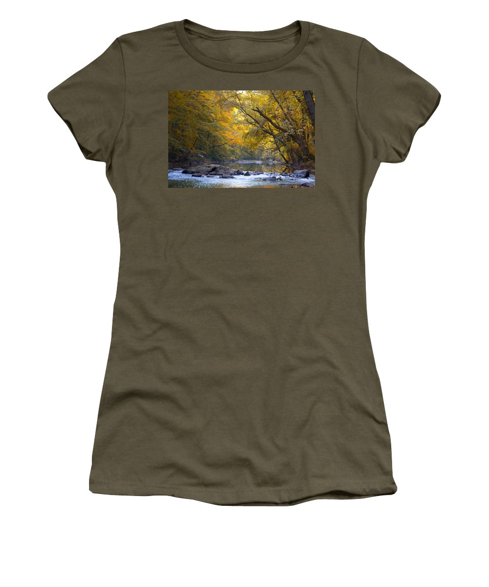 Turn Women's T-Shirt featuring the photograph Turn Turn Turn by Bill Cannon