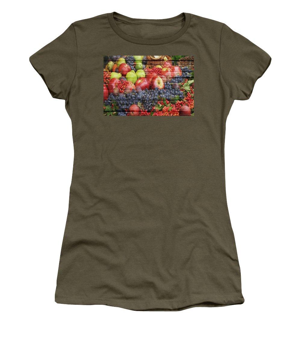 Fruit Women's T-Shirt featuring the photograph Fruit by Joe Hamilton