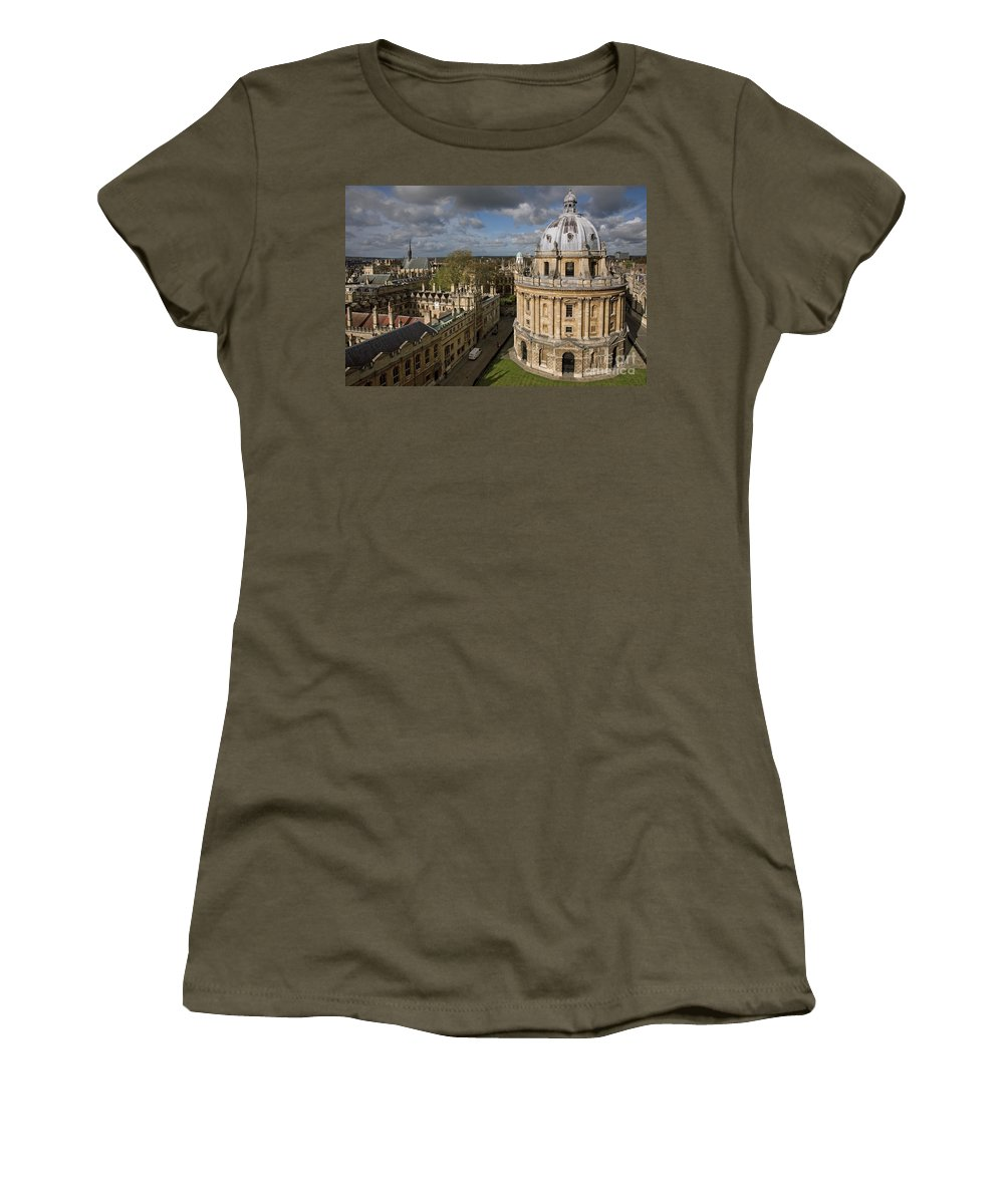 Oxford Women's T-Shirt featuring the photograph 110307p138 by Arterra Picture Library