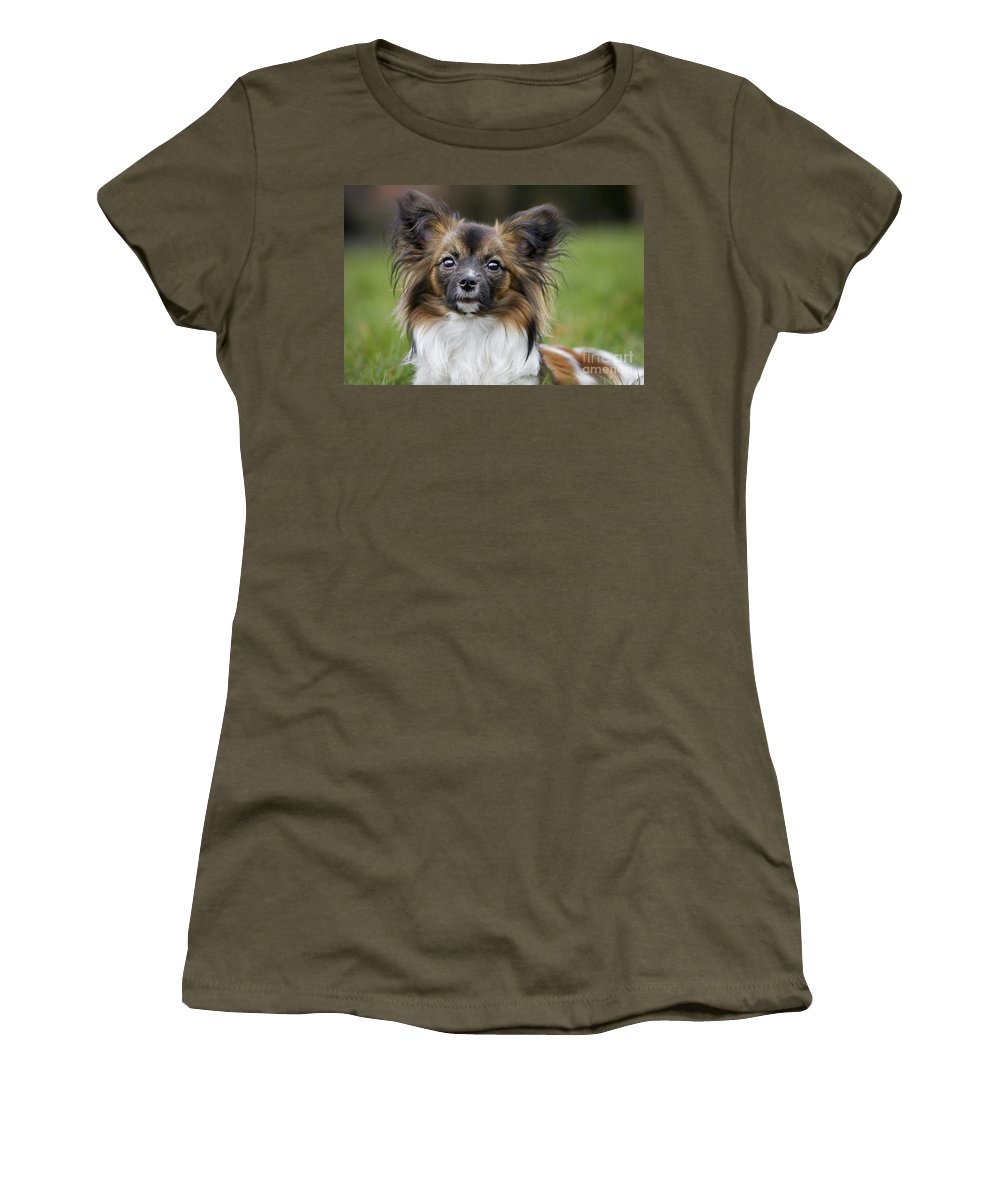 Mammal Women's T-Shirt featuring the photograph 110506p151 by Arterra Picture Library