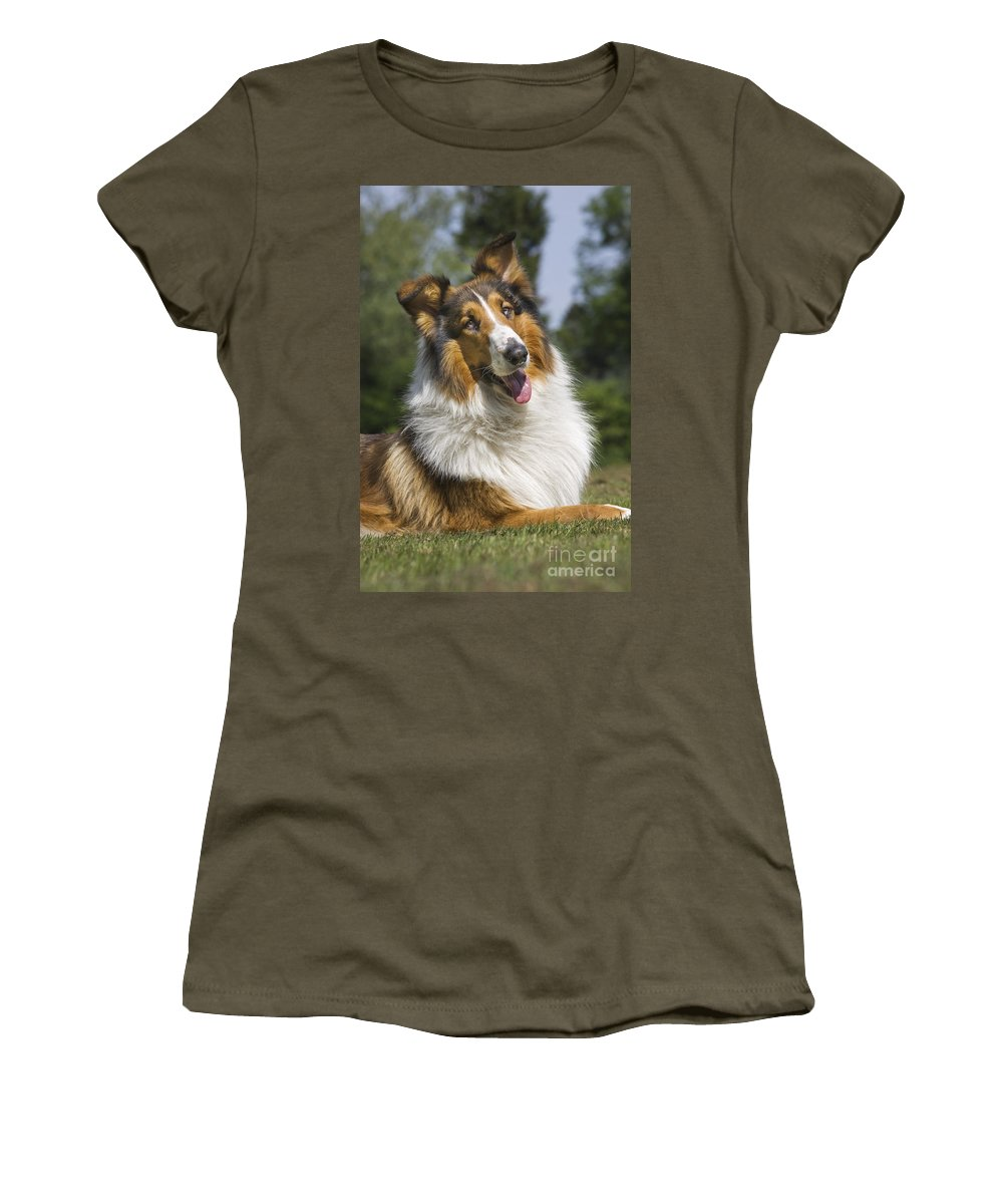 Mammal Women's T-Shirt featuring the photograph 110506p178 by Arterra Picture Library