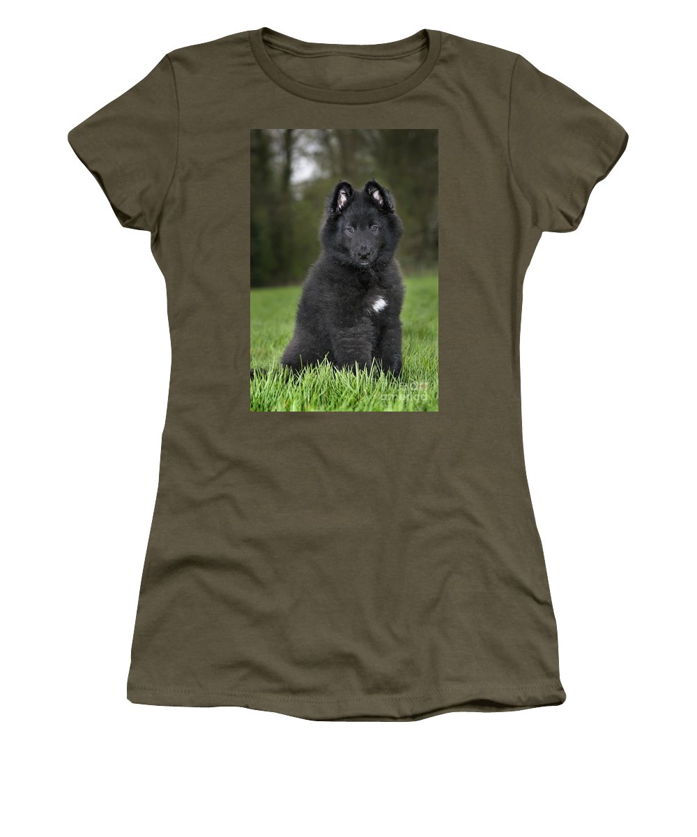 Mammal Women's T-Shirt featuring the photograph 110506p179 by Arterra Picture Library
