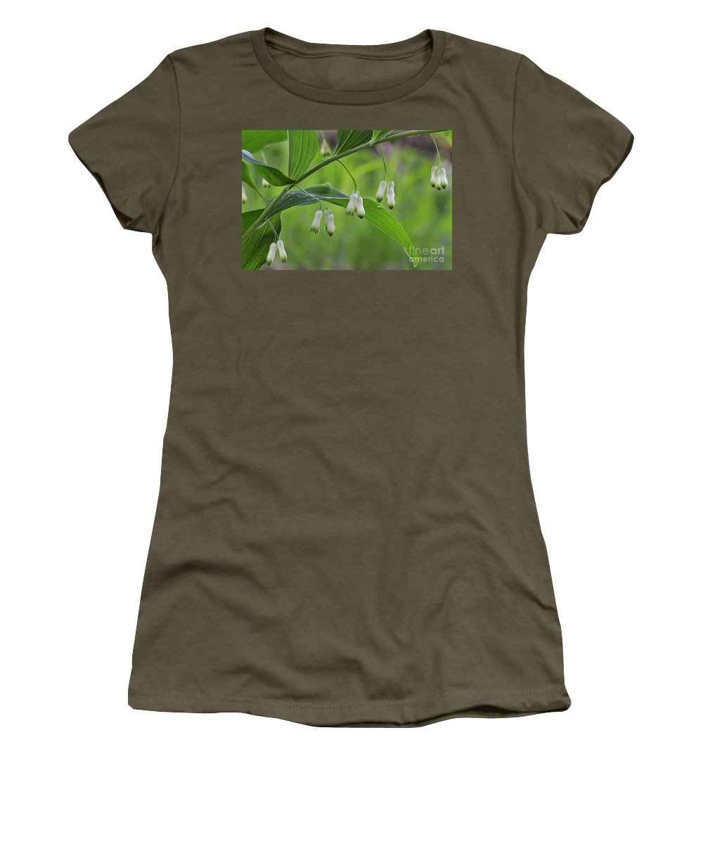 Common Solomon's-seal Women's T-Shirt featuring the photograph 110613p045 by Arterra Picture Library