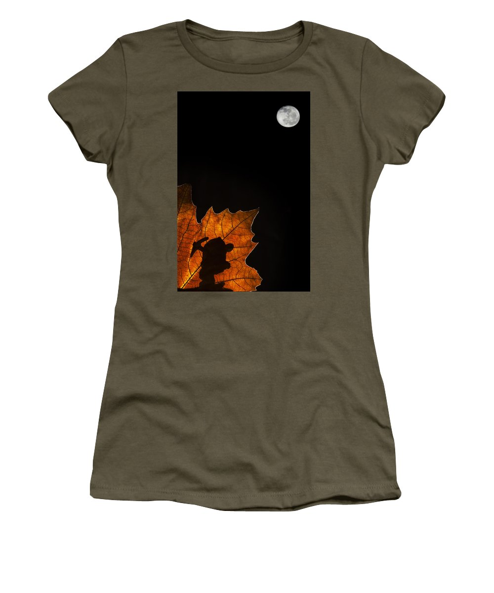 Dwarf Women's T-Shirt (Athletic Fit) featuring the photograph 131114p323 by Arterra Picture Library