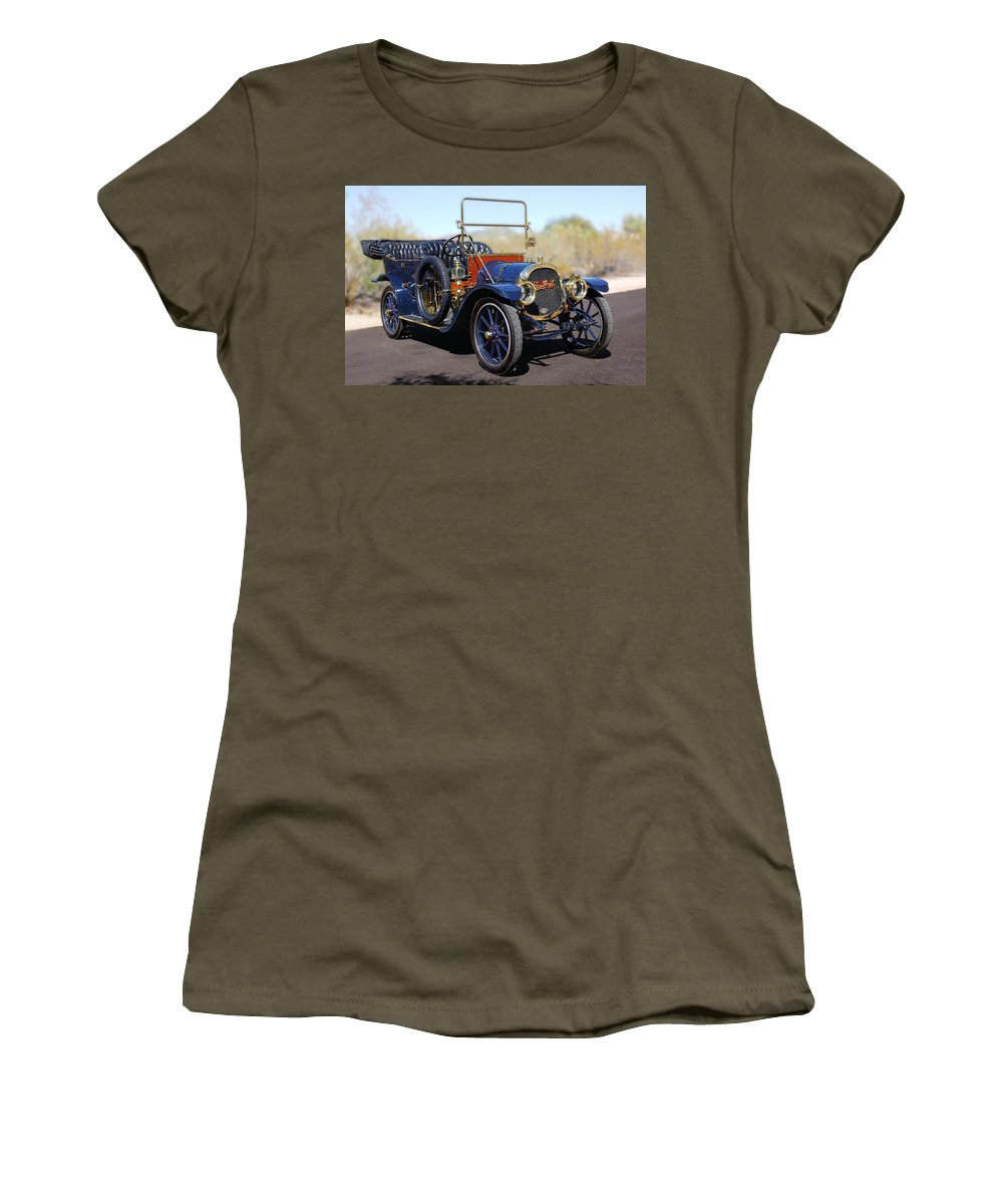 1910 Pope Hartford Model T Women's T-Shirt featuring the photograph 1910 Pope Hartford Model T by Jill Reger