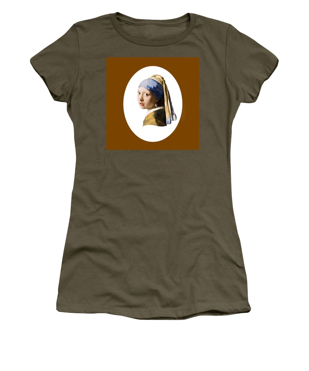 Vermeer Women's T-Shirt (Athletic Fit) featuring the photograph Held In Beauty's Gaze by Peter Lloyd